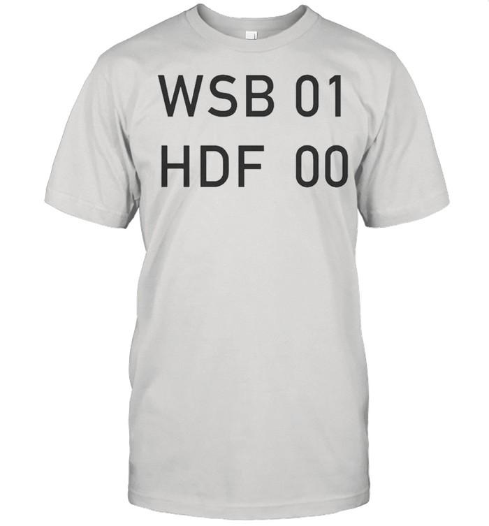 Wallstreetbets Wsb 01 Hdf 00 shirt Classic Men's T-shirt