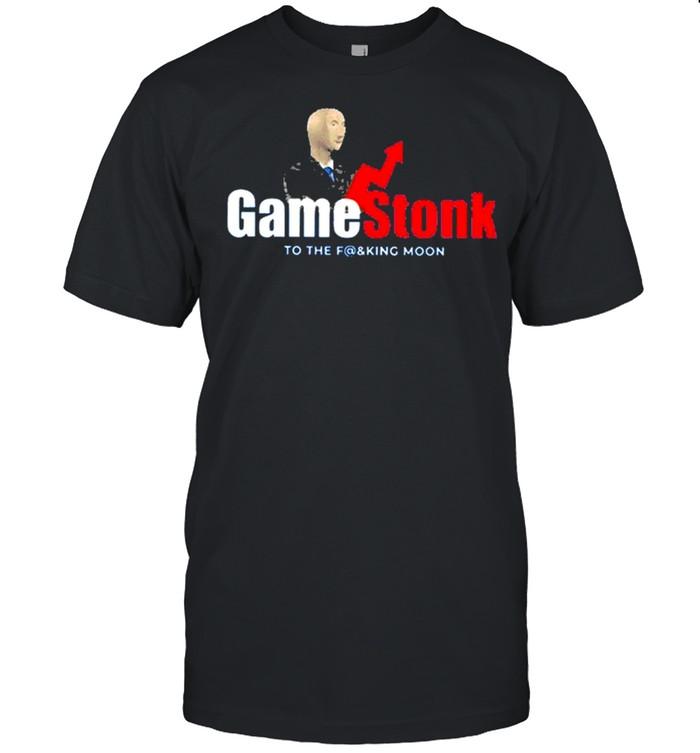 Gamestop Gme To The F@ King Moon 2021 shirt Classic Men's T-shirt