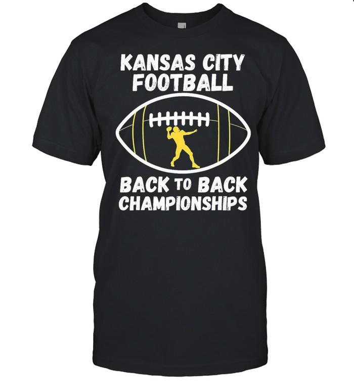 Kansas City Football Back To Back Championship 2021 shirt Classic Men's T-shirt