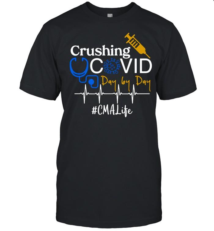 Crushing Covid Day By Day CMA Life shirt Classic Men's T-shirt