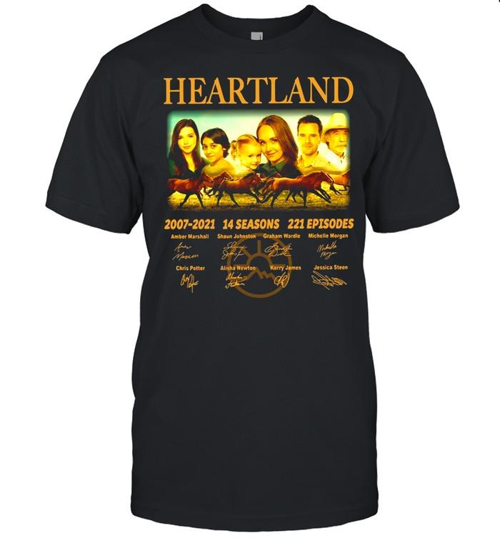 Heartland 2007 2021 14 Seasons 221 Episodes Signature shirt Classic Men's T-shirt