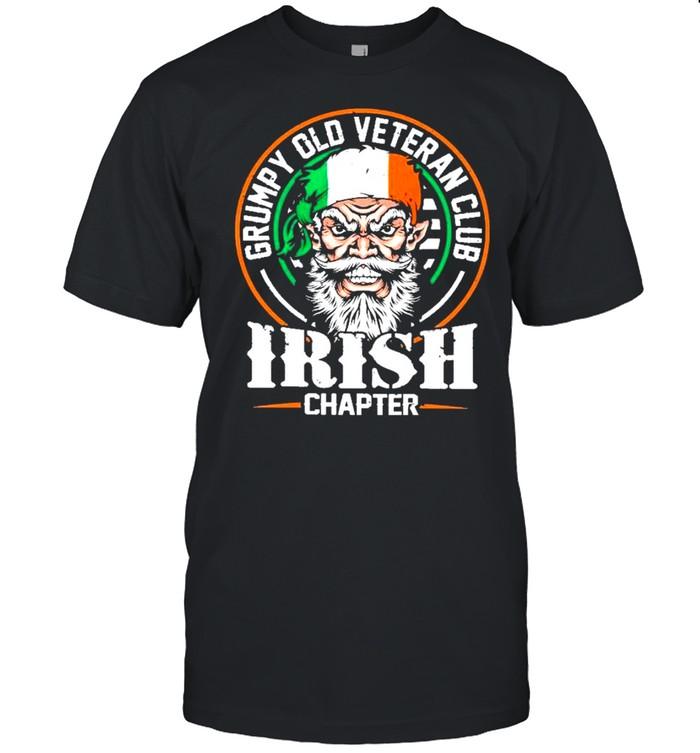 Grumpy old veteran club irish shirt Classic Men's T-shirt
