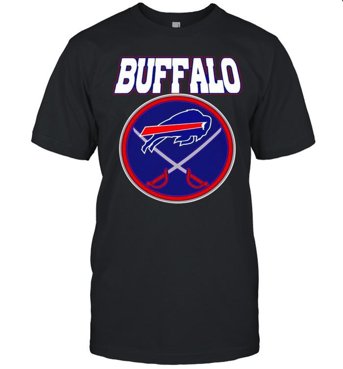 Buffalo Bills Buffalo Sabres X Bills Mash-up shirt Classic Men's T-shirt
