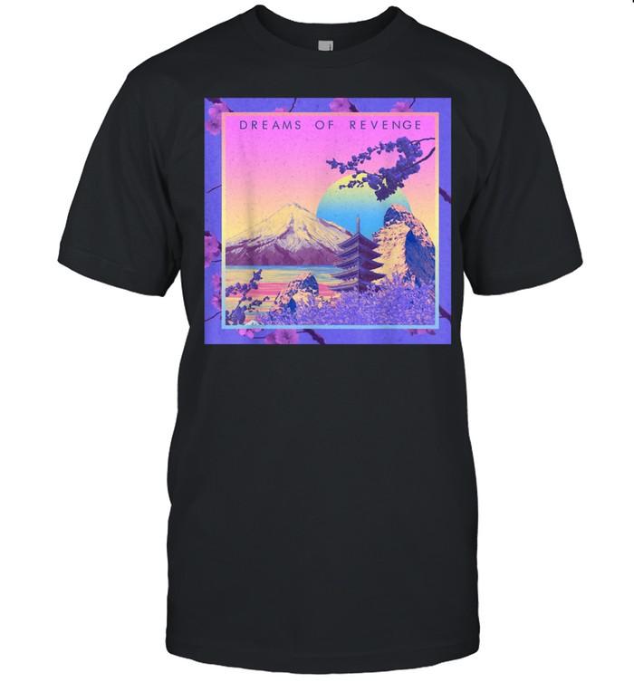 Vaporwave Aesthetic Pastel Japanese Floral Retrowave Lofi shirt Classic Men's T-shirt