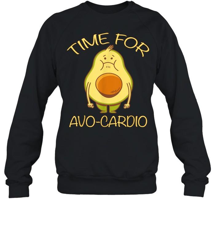 Lustiges Avocado Fitness Time for AvoCardio shirt Unisex Sweatshirt