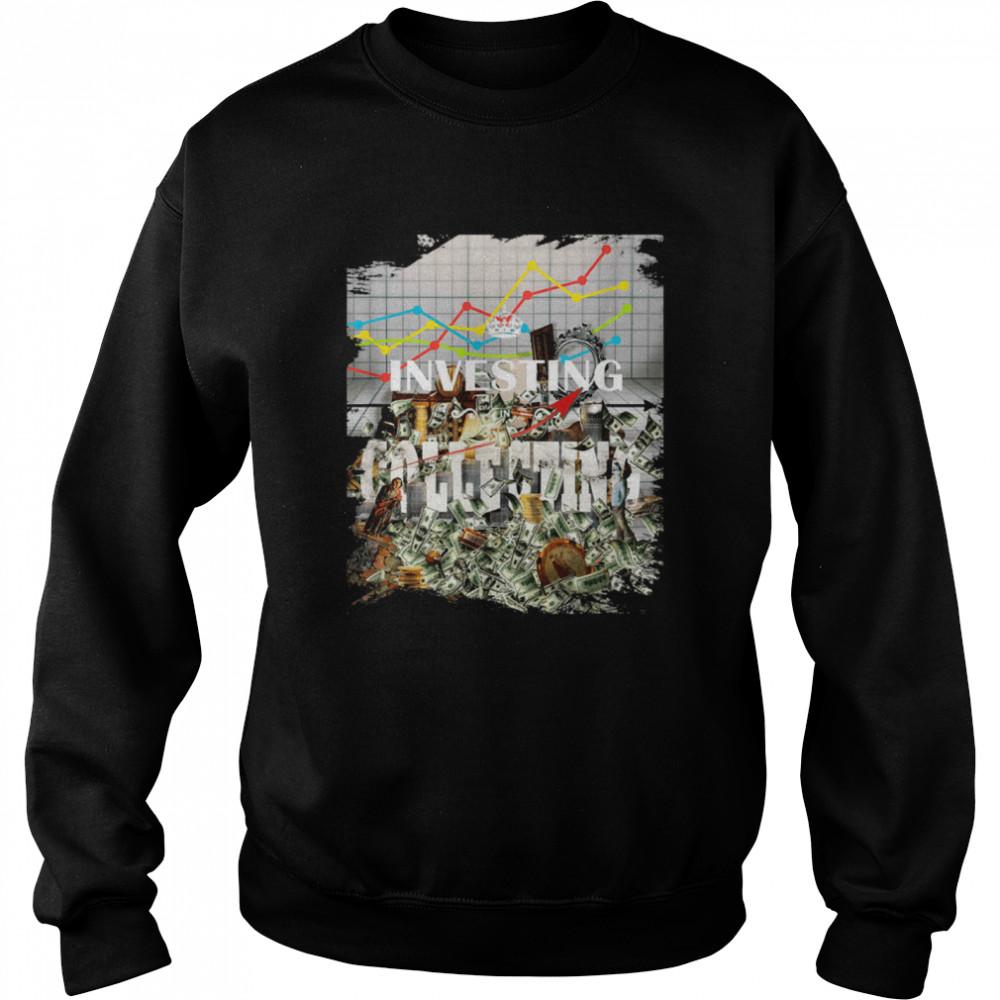Investing Vintage Collecting Antique Investor Collector shirt Unisex Sweatshirt