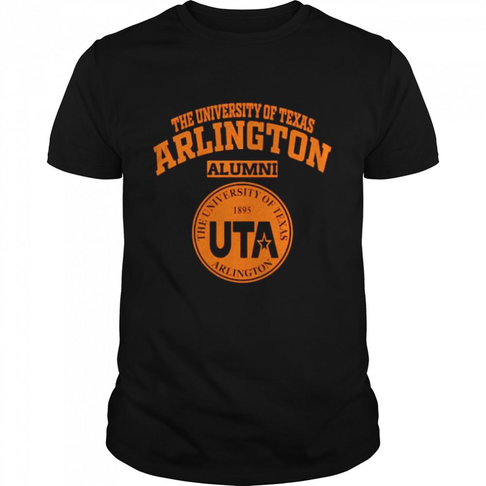 The University Of Texas Arlington Alumni 1895 Logo  Classic Men's T-shirt