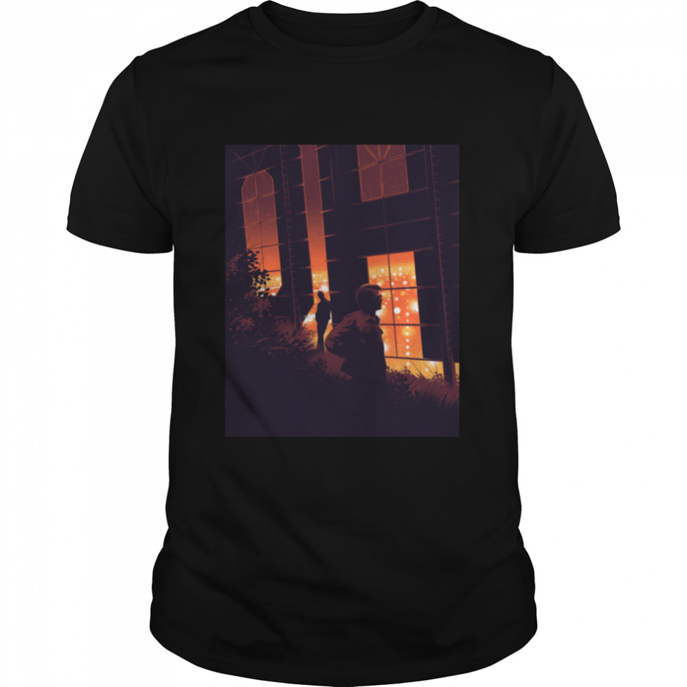 Out Fire  Classic Men's T-shirt