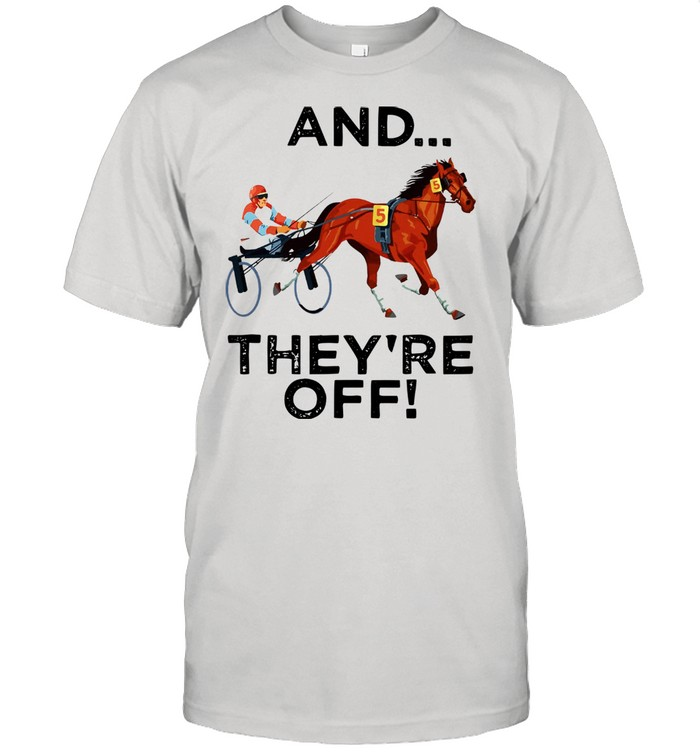 Harness Racing And They're Off shirt Classic Men's T-shirt