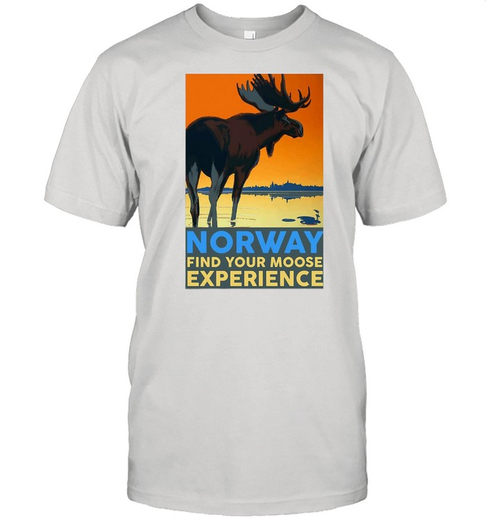 Norway Find Your Moose Experience shirt Classic Men's T-shirt