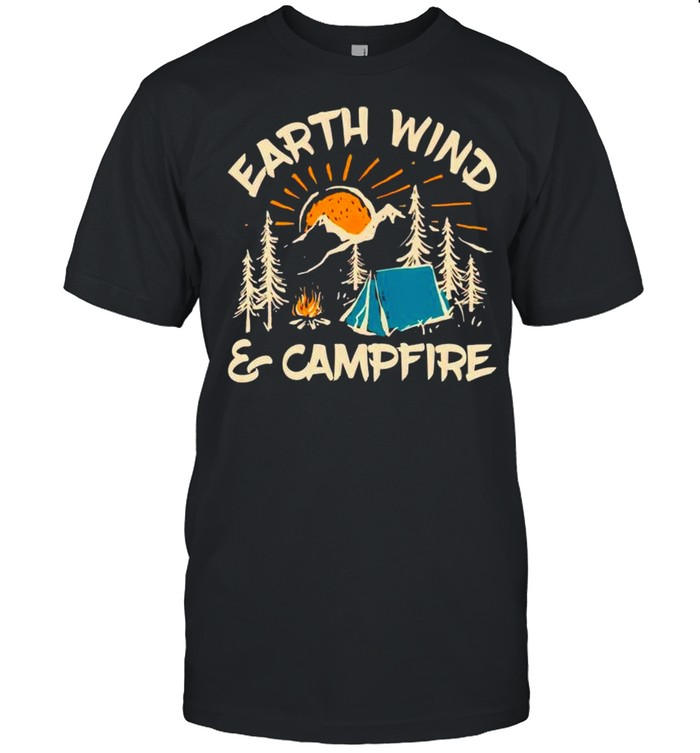 Earth wind and campfire shirt Classic Men's T-shirt