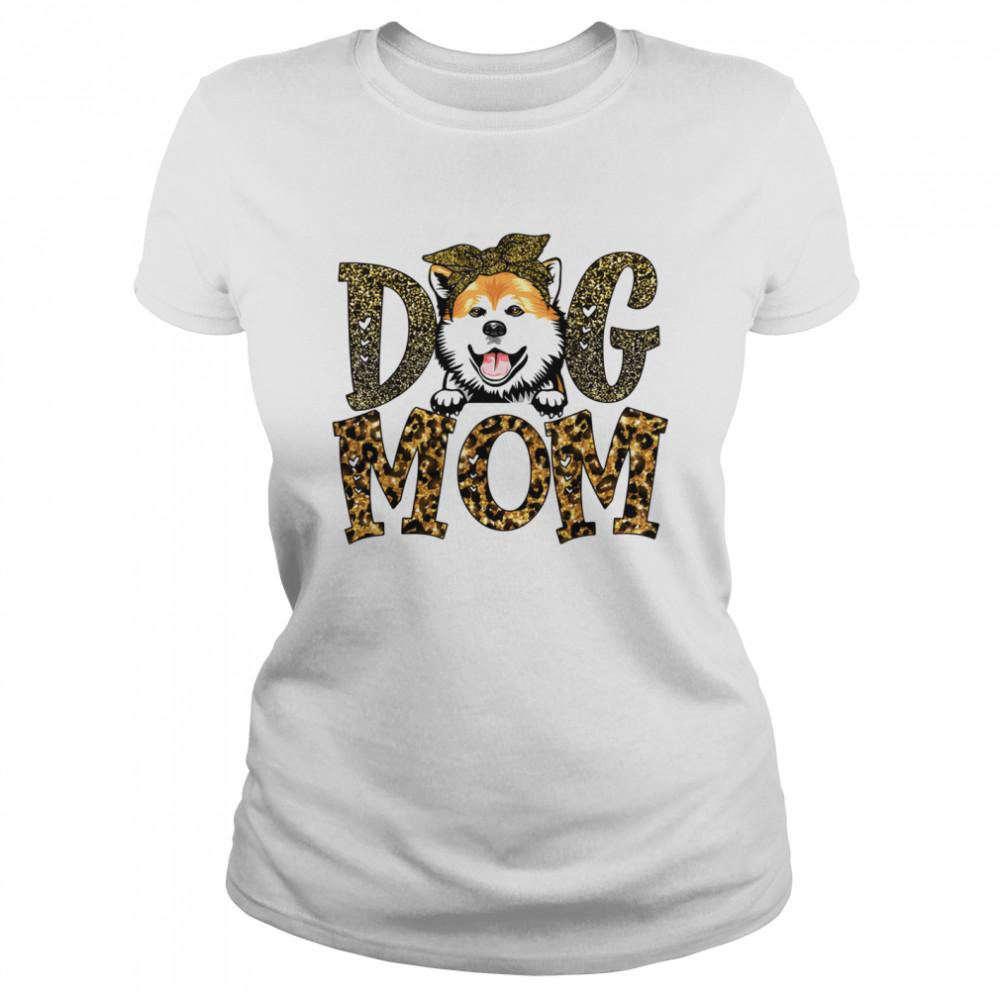 Akita Dog Mom Mother's Day  Classic Women's T-shirt