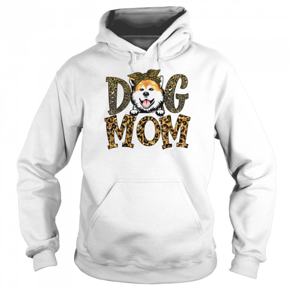 Akita Dog Mom Mother's Day  Unisex Hoodie