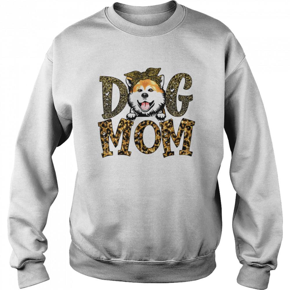 Akita Dog Mom Mother's Day  Unisex Sweatshirt