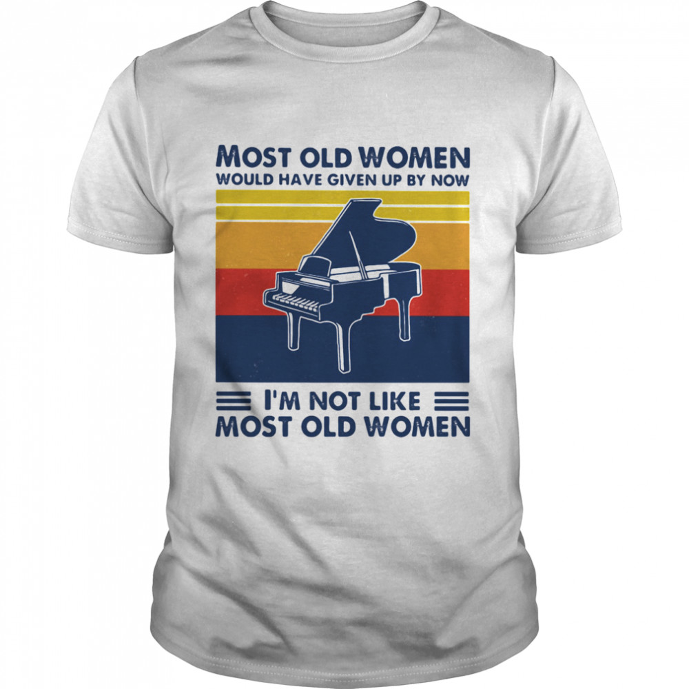 Most Old Men Would Have Given Up By Now I'm Not Like Most Old Men Windsurfing Vintage  Classic Men's T-shirt