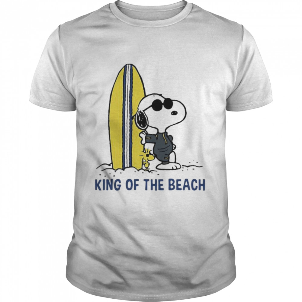 King Of The Beach Snoopy  Classic Men's T-shirt