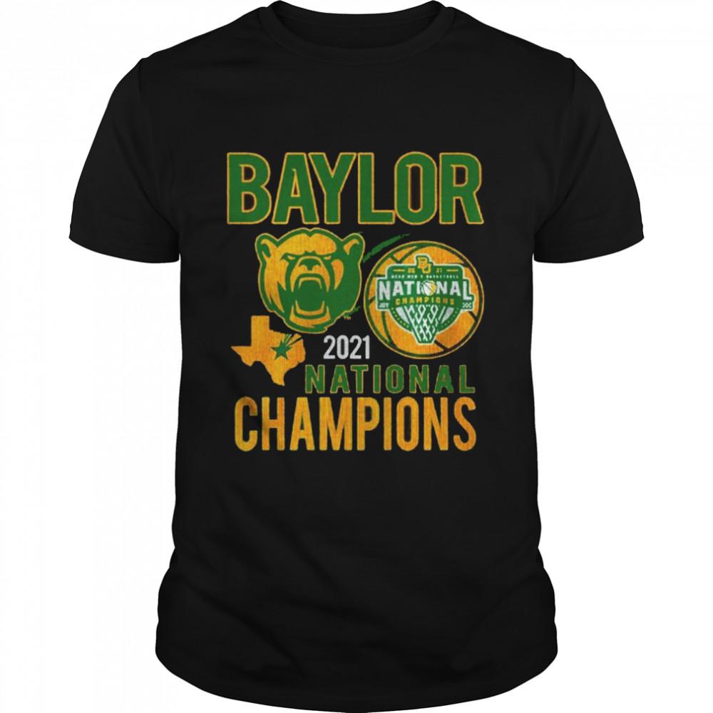 Baylor Bears Texas 2021 national champions shirt Classic Men's T-shirt