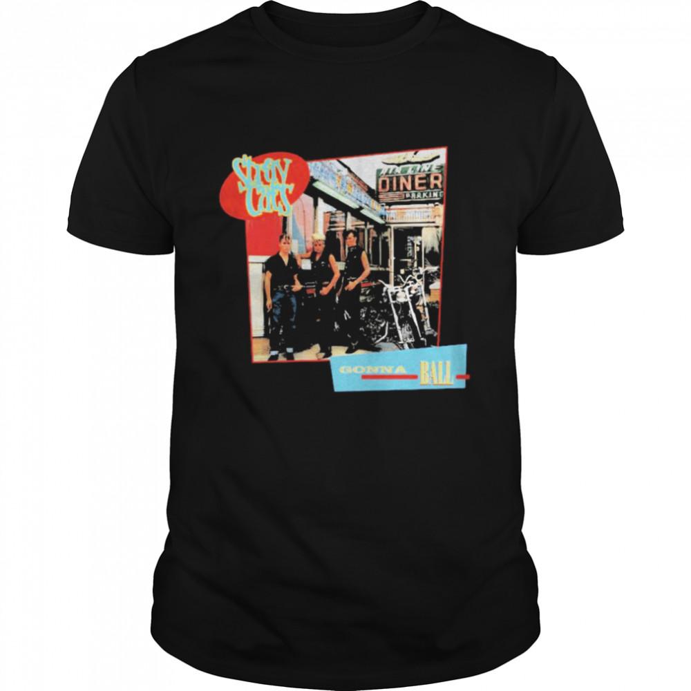Stray Cats Gonna Ball  Classic Men's T-shirt