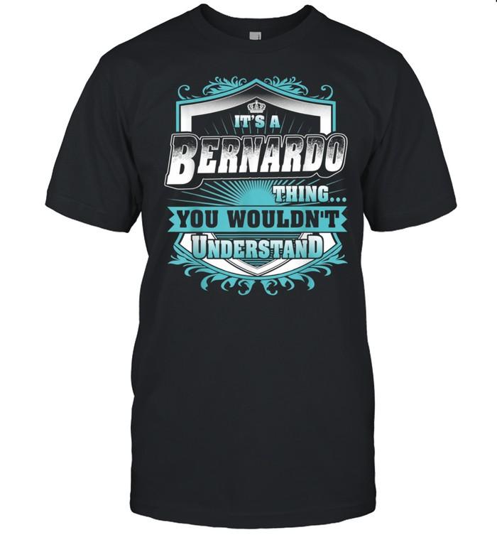 Best for BERNARDO BERNARDO named shirt Classic Men's T-shirt