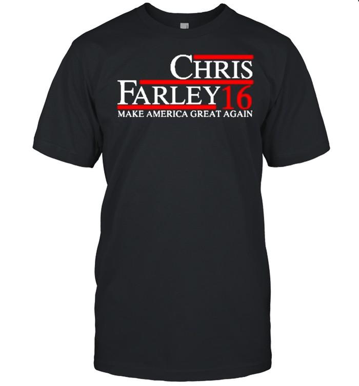 Chris farley 16 make america great again shirt Classic Men's T-shirt