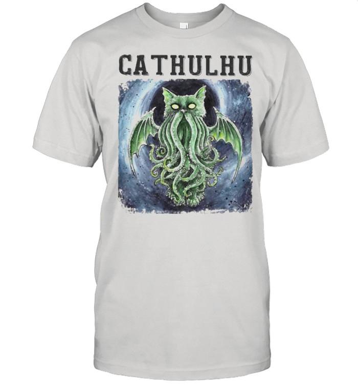 Cathulhu  Classic Men's T-shirt
