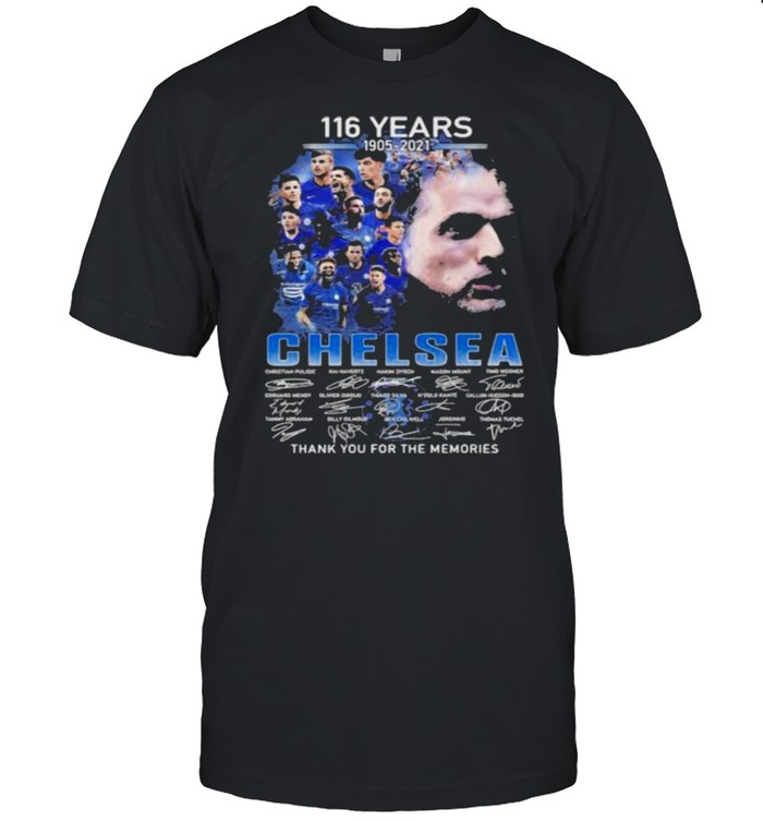 116 years 1905-2021 Chelsea thank you for the memories signature shirt Classic Men's T-shirt
