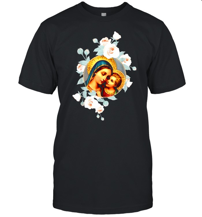 Our Lady of Good Remedy Blessed Mother Mary shirt Classic Men's T-shirt