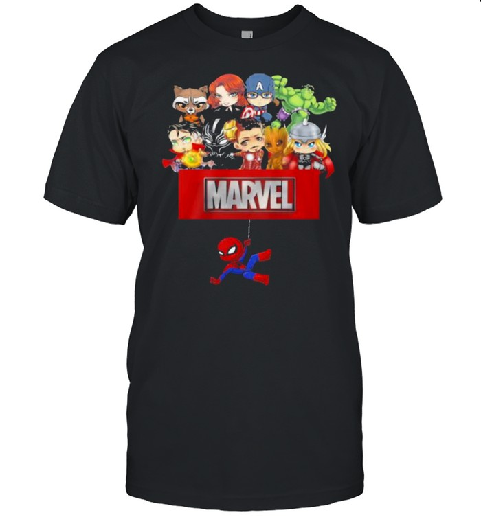 Marvel Hero Spiderman Avengers  Classic Men's T-shirt