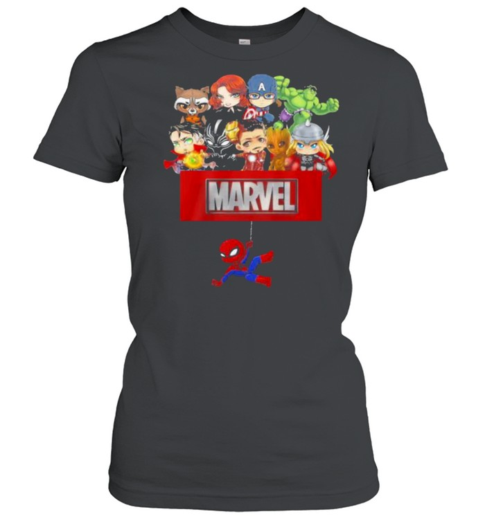 Marvel Hero Spiderman Avengers  Classic Women's T-shirt