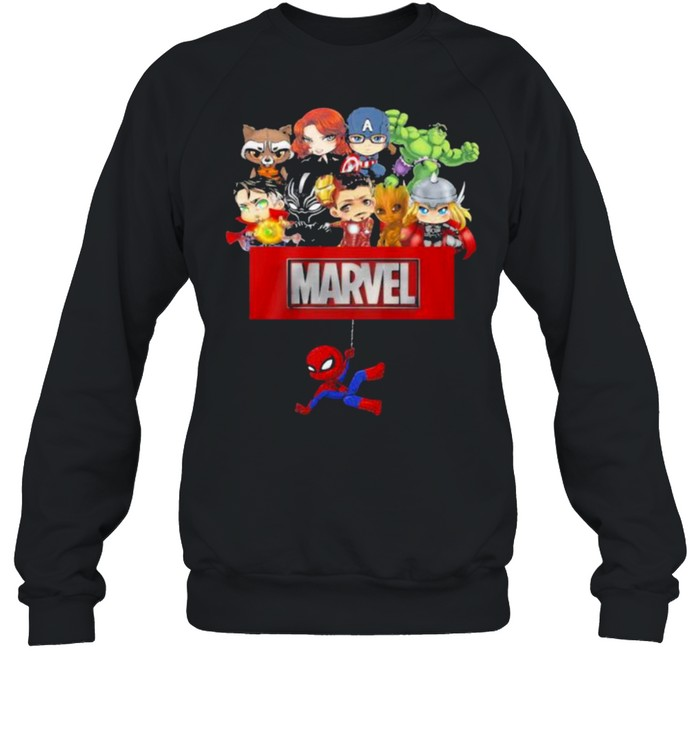 Marvel Hero Spiderman Avengers  Unisex Sweatshirt