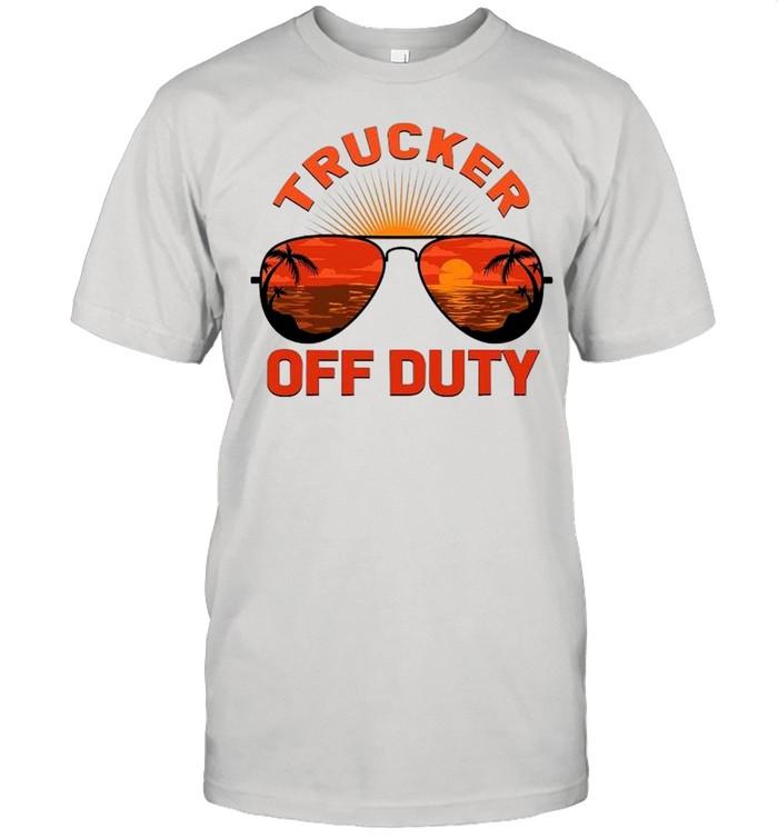 Summer Sunglasses Trucker Off Duty shirt Classic Men's T-shirt