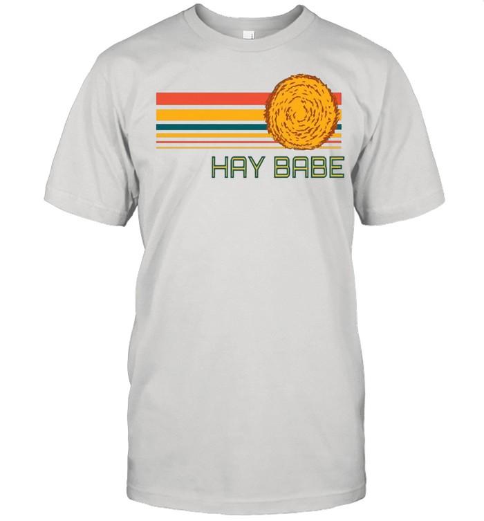 Hay Babe Vintage  Classic Men's T-shirt