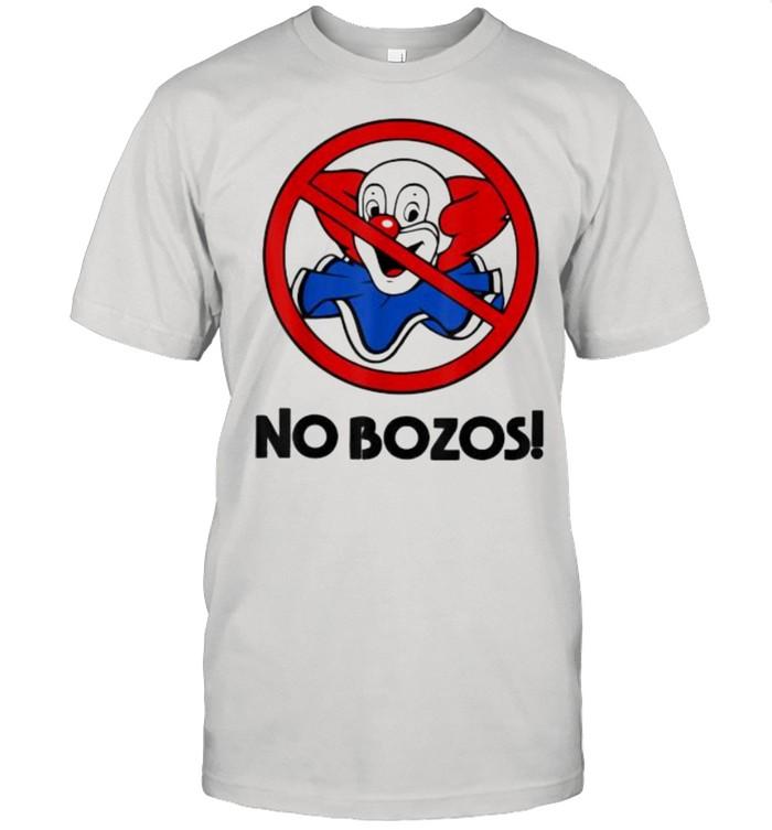 NO Funny BOZOS T- Classic Men's T-shirt