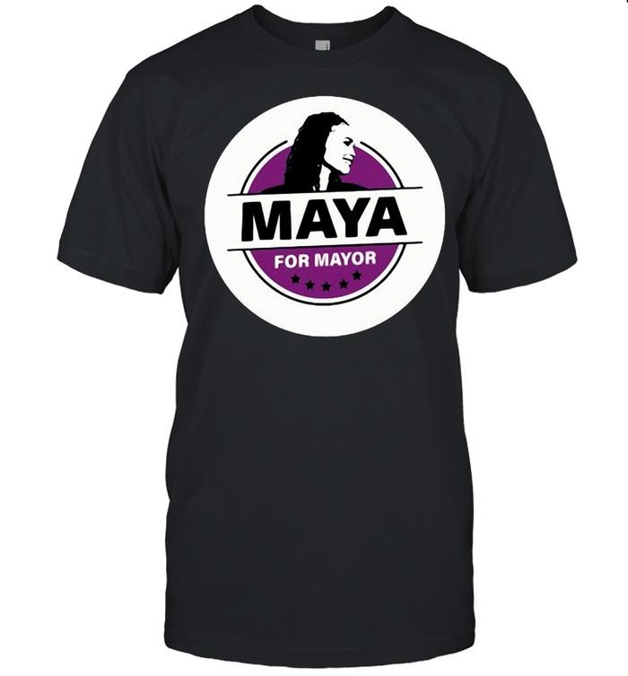 Maya For Mayor Logo  Classic Men's T-shirt