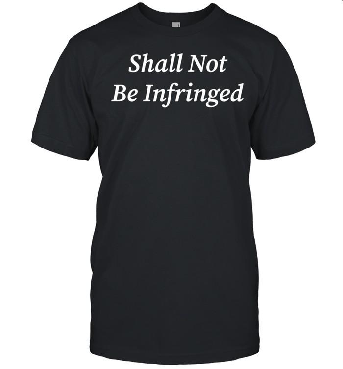 Shall Not Be Infringed Second Amendment Libertarian 2a USA Langarmshirt shirt Classic Men's T-shirt