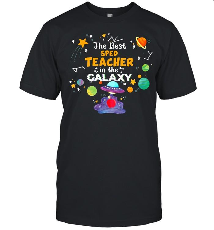 The Best Sped Teacher In The Galaxy T-shirt Classic Men's T-shirt