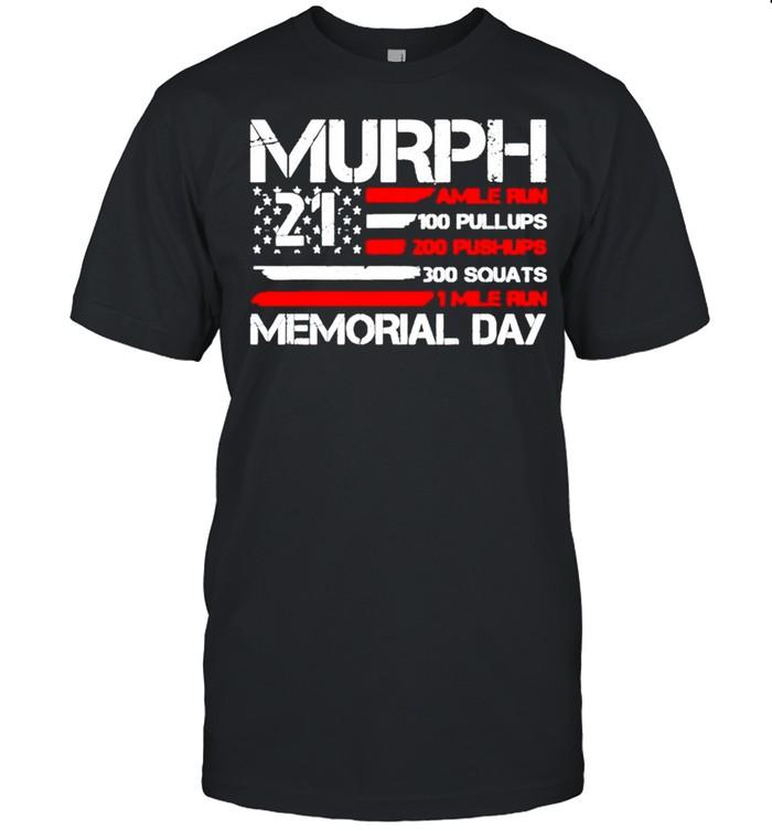 Murph 2021 amile run 100 pullups shirt Classic Men's T-shirt