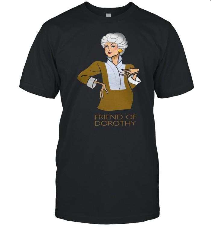 Golden Girl Friend Of Dorothy  Classic Men's T-shirt
