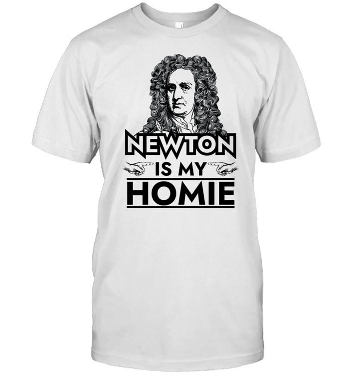 Isaac Newton is My Homie shirt Classic Men's T-shirt