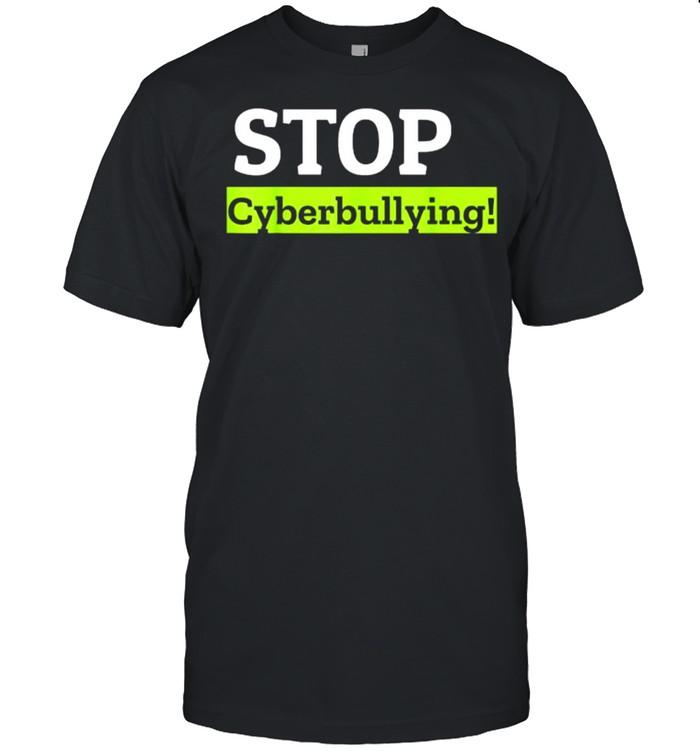 Stop Cyberbullying T- Classic Men's T-shirt