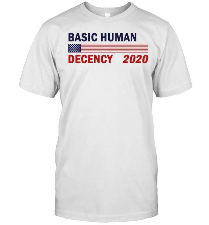 Basic human decency 2020 shirt Classic Men's T-shirt