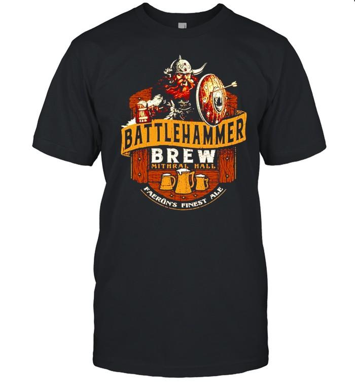 Battlehammer Brew faerun finest ale shirt Classic Men's T-shirt