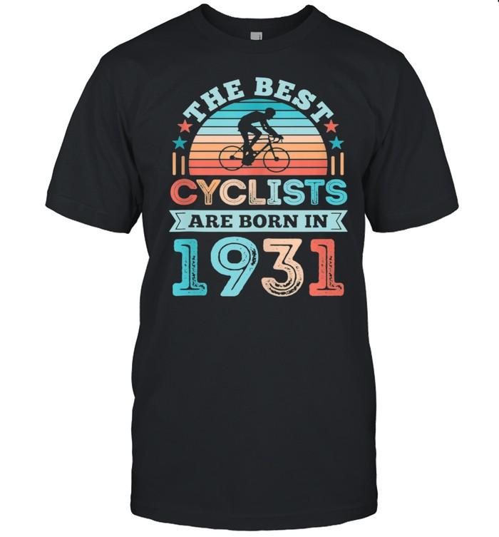 90th Birthday Cycling Best Cyclist born 1931 shirt Classic Men's T-shirt