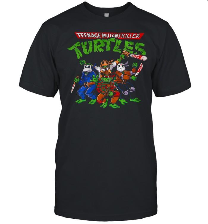 Halloween Teenage mutant killer turtles shirt Classic Men's T-shirt