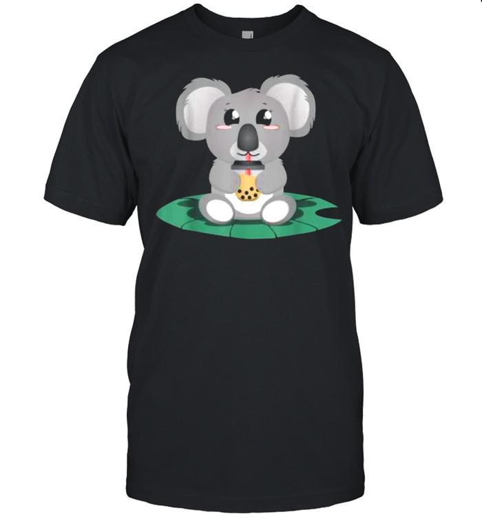 Kawaii Koala Boba Milk tea T- Classic Men's T-shirt