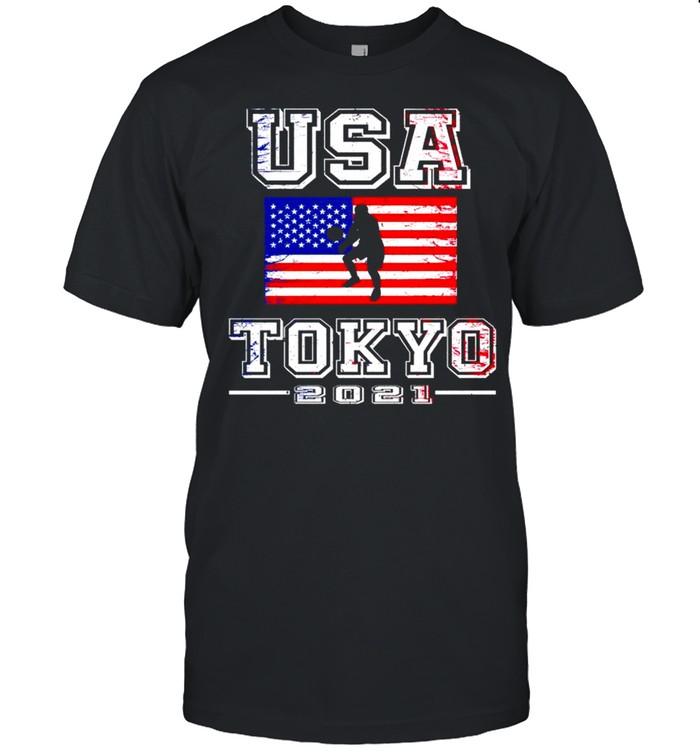 Team USA Olympic Tokyo 2021 shirt Classic Men's T-shirt