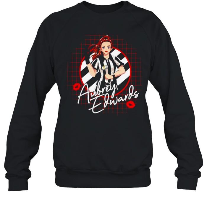 Aubrey Edwards anime dreams shirt Unisex Sweatshirt