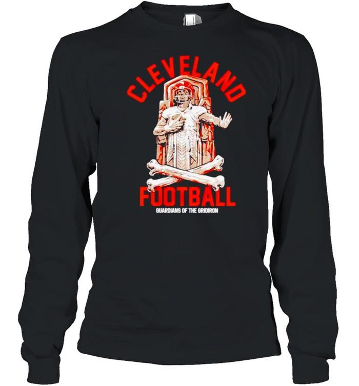 Cleveland Football guardians of the gridiron shirt Long Sleeved T-shirt