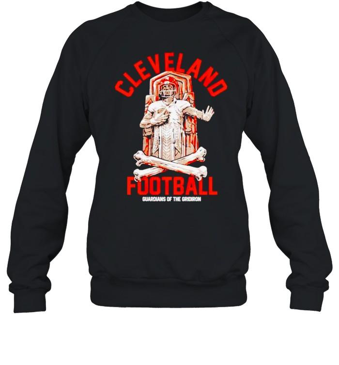 Cleveland Football guardians of the gridiron shirt Unisex Sweatshirt