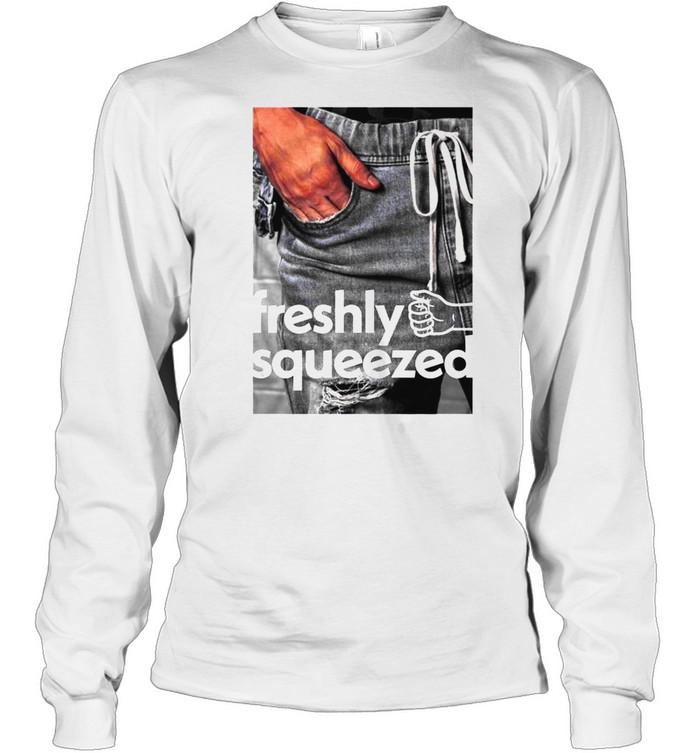 Orange Cassidy Freshly Squeezed Pocket shirt Long Sleeved T-shirt